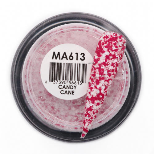 GLAM AND GLITS MATTE ACRYLIC - MAT613 CANDY CANE